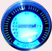 Boost Gauge - 2BAR - Needleless LED Display