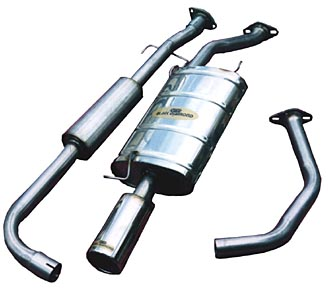 Toyota Landcruiser 100 Series V8 Exhaust (2UZ)